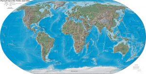 World map/CIA
