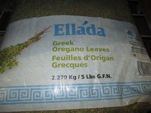 Ellada brand Greek Oregano Leaves Image/CFIA