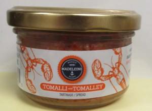 Madeleine brand Tomalley Spread/CFIA