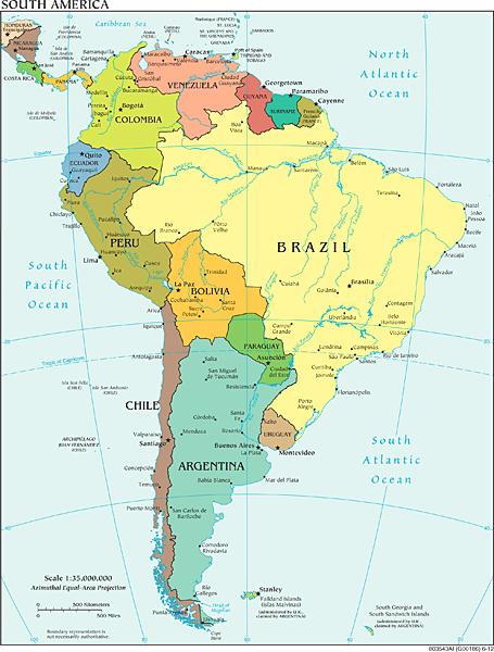 South America/CIA