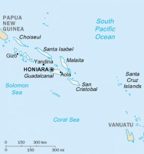 Solomon Islands/CIA