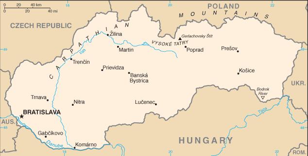 Slovakia /CIA