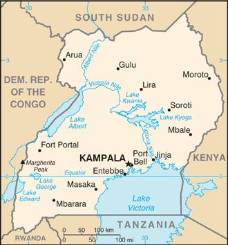 Uganda/CIA