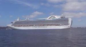 Princess Cruises' Crown Princess Image/Video Screen Shot