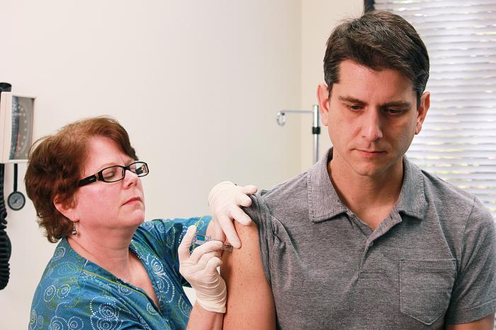 Flu shot/CDC