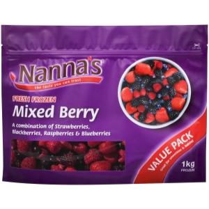 Nanna's Mixed Berry/Victoria Health