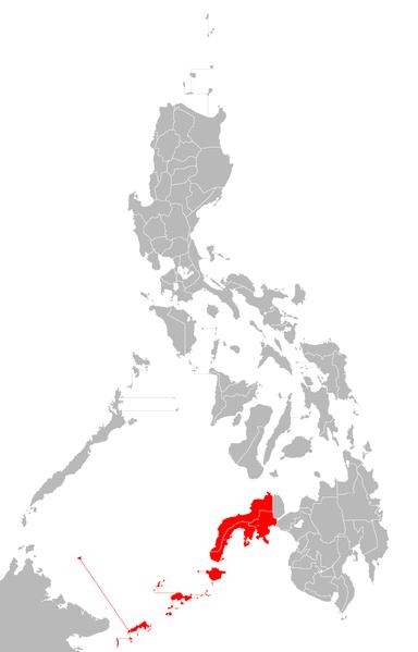 Zamboanga map/Howard the Duck