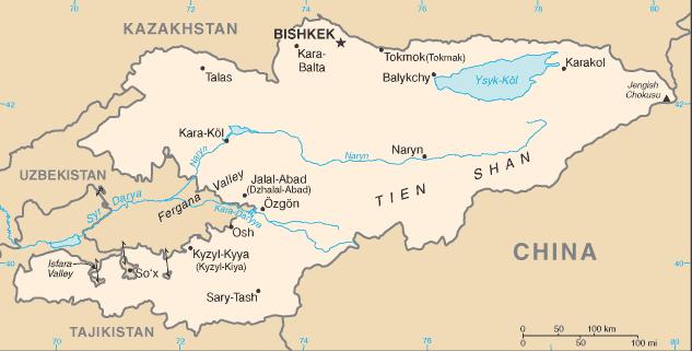 Kyrgyzstan/CIA