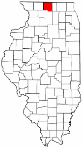 Winnebago County Illinois/Public domain map courtesy of The General Libraries, The University of Texas at Austin