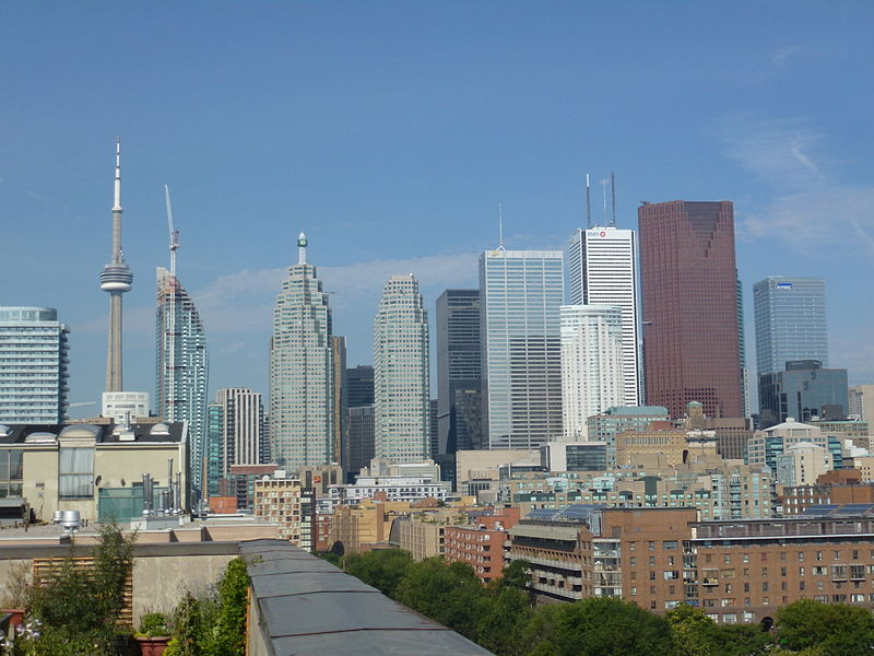 Toronto skyline/Geo Swan