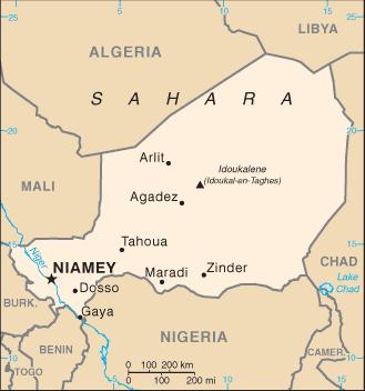 Niger/CIA