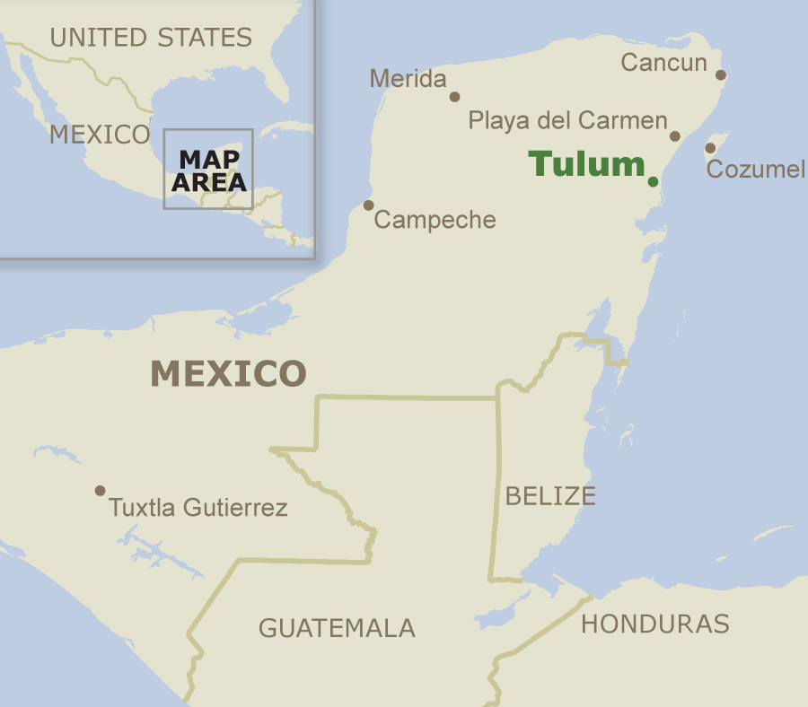 Tulum, Mexico/CDC
