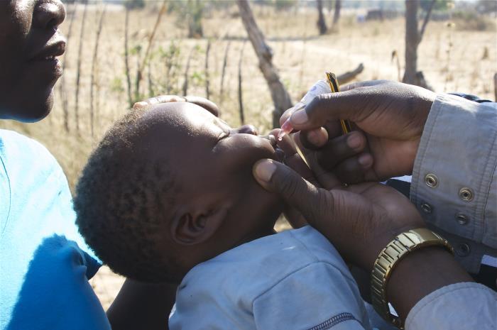 Polio vaccine Image/Michael Washington, PhD, Health Scientist, NCEZID