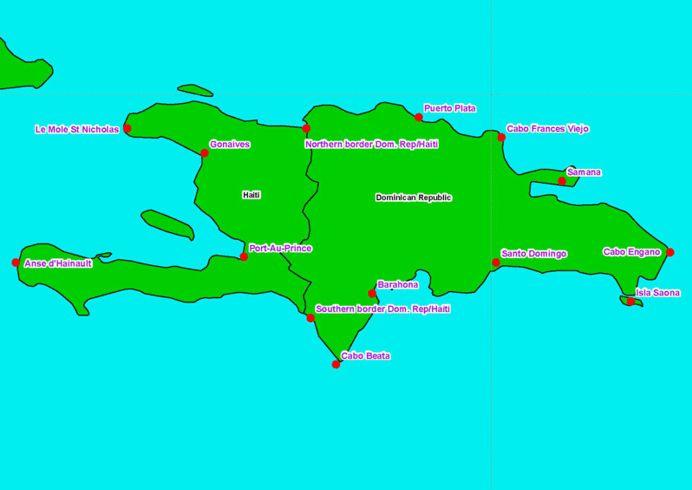 Hispaniola/U.S. National Oceanic and Atmospheric Administration
