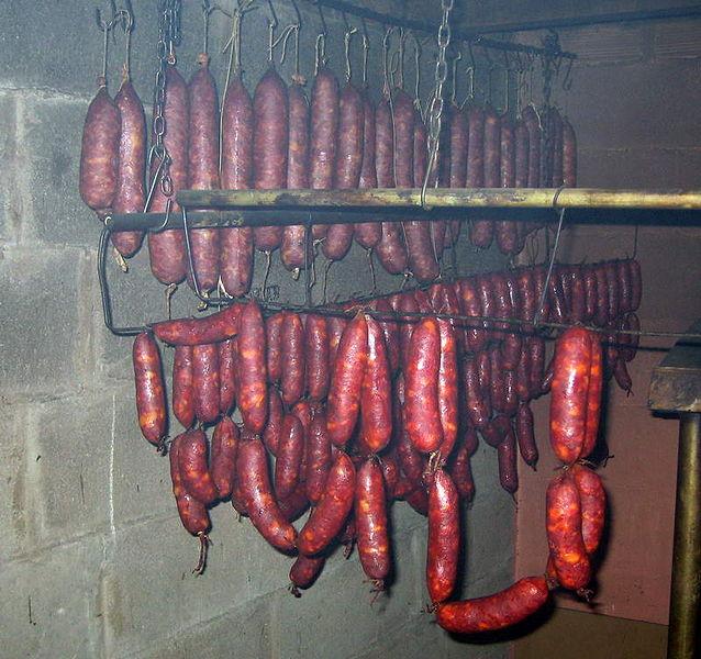 Chorizos Public domain image/Grelavia wikimedia commons