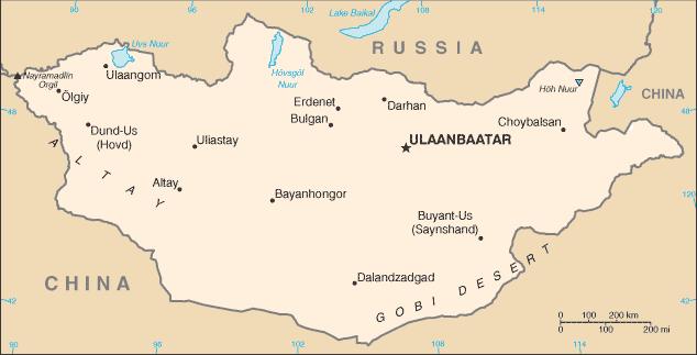 Mongolia/CIA