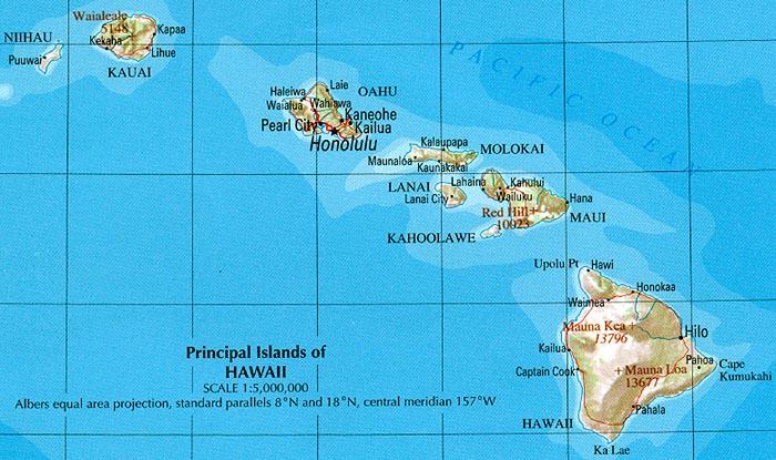 Hawaii/Perry-Castañeda Library
