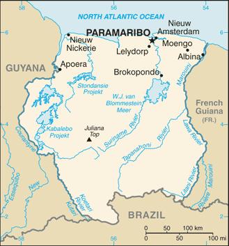Suriname/CIA