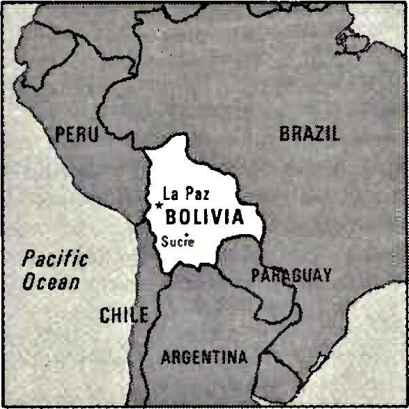 Bolivia Image/CIA World Factbook