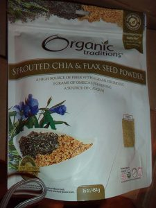 Sprouted Chia & Flax Seed Powder