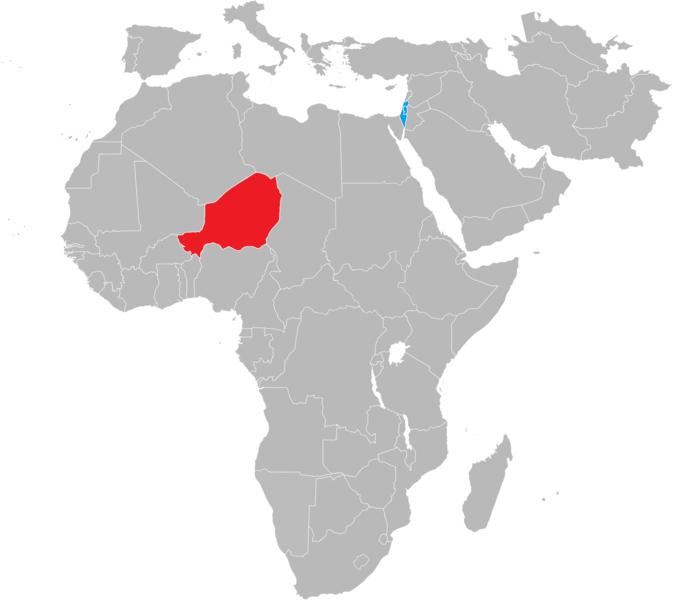 Niger (in red) Image/FireSky