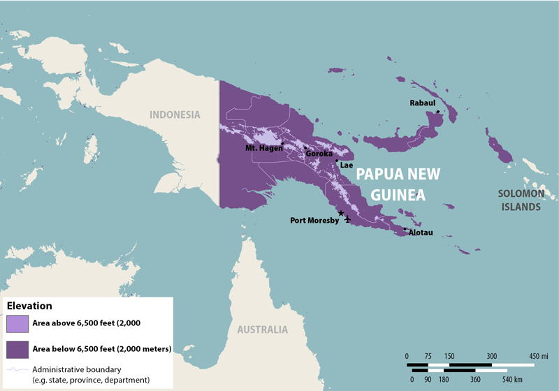 Papua New Guinea Image/CDC