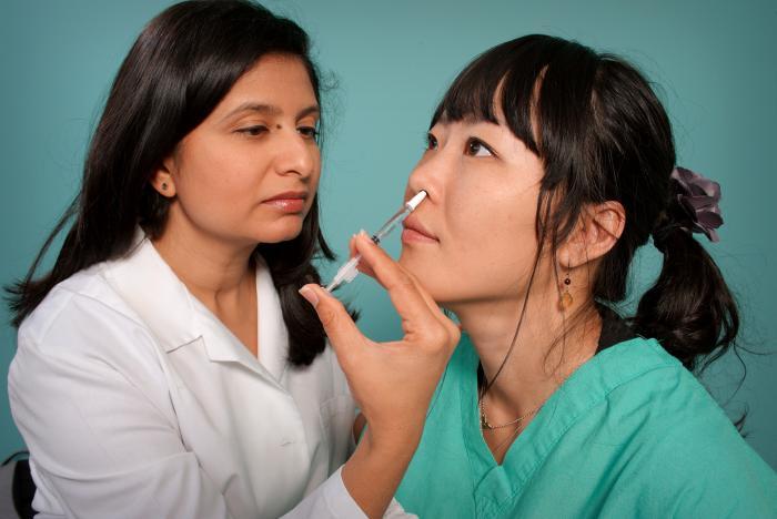 Nasal flu vaccine/CDC