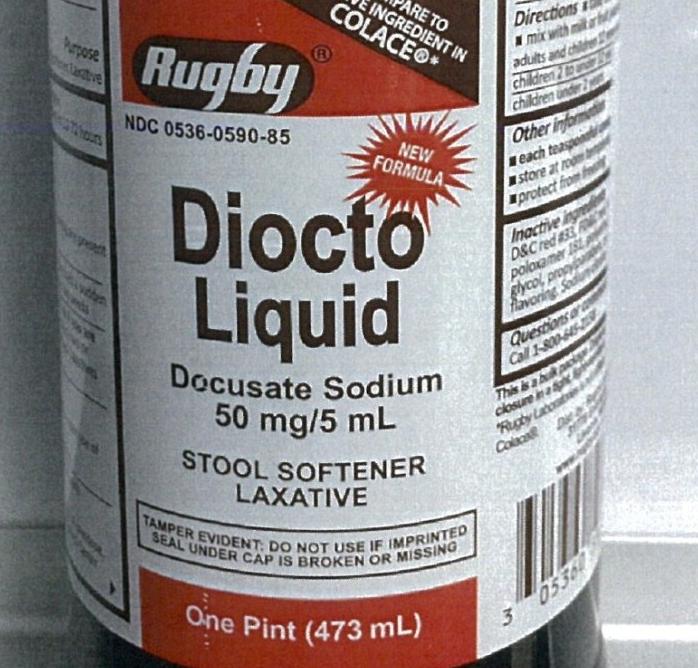 Diocto Liquid/FDA