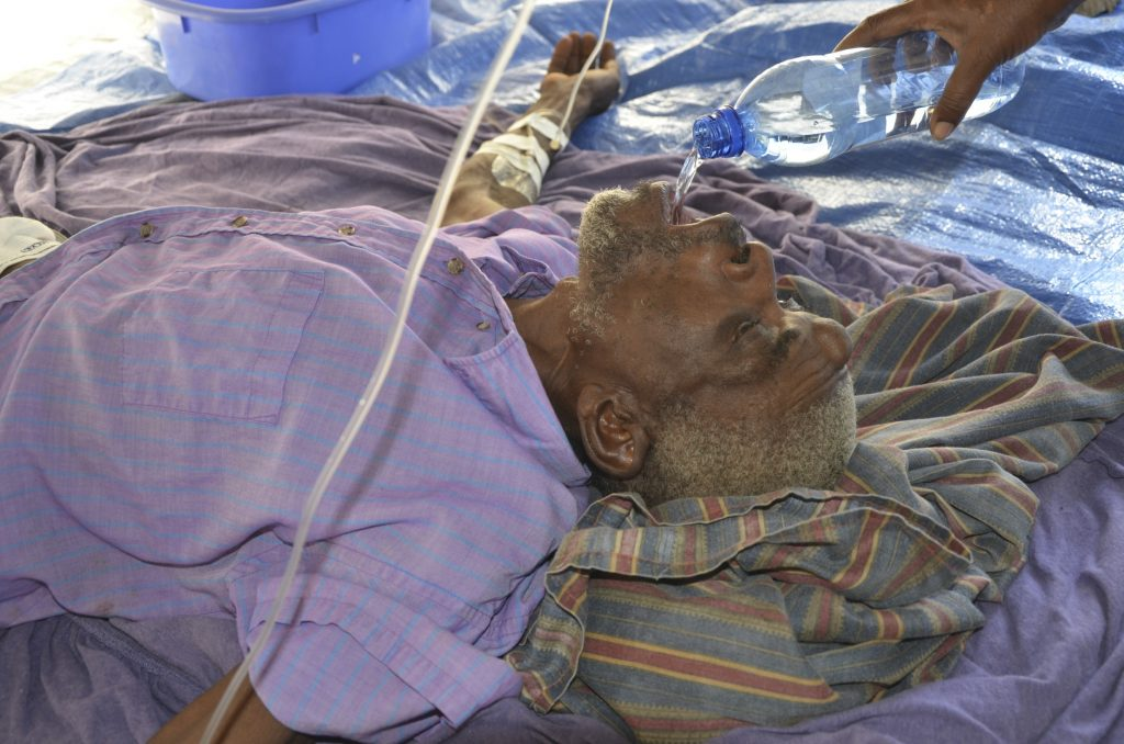 Cholera Victim–Pestel, January 2012–Photo by John Carroll MD
