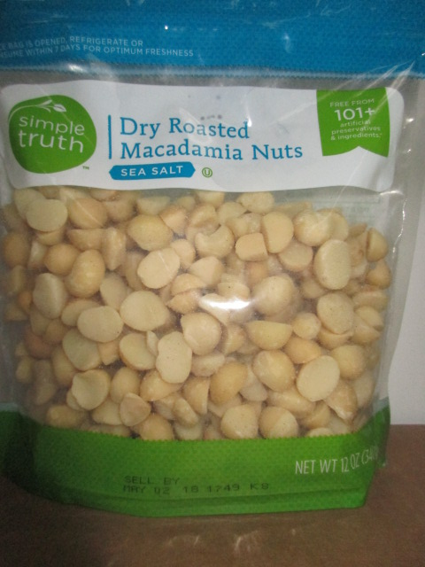 Simple Truth Dry Roasted Macadamia Nuts