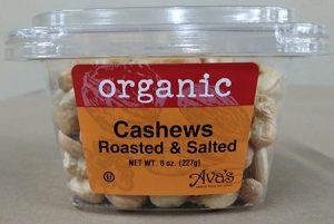 Ava's organic cashews