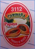 Caribeña's yellow, Maradol papayas Image/MDH