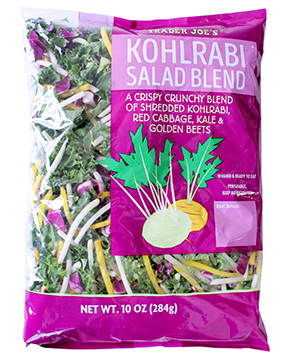 Trader Joe's Kohlrabi Salad Blend Image/Trader Joe's